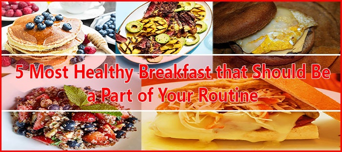 Feature Image for Best Healthy Breakfast