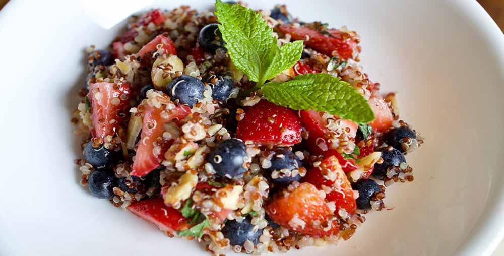 Quinoa Fruit Salad Best Healthy Breakfast