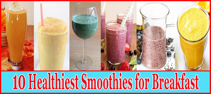 Healthy Shakes for Breakfast Feature Image