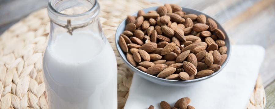 Diet to Gain Muscle - Almonds Image