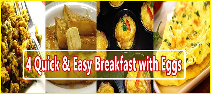 Breakfast Dishes with Eggs Cover