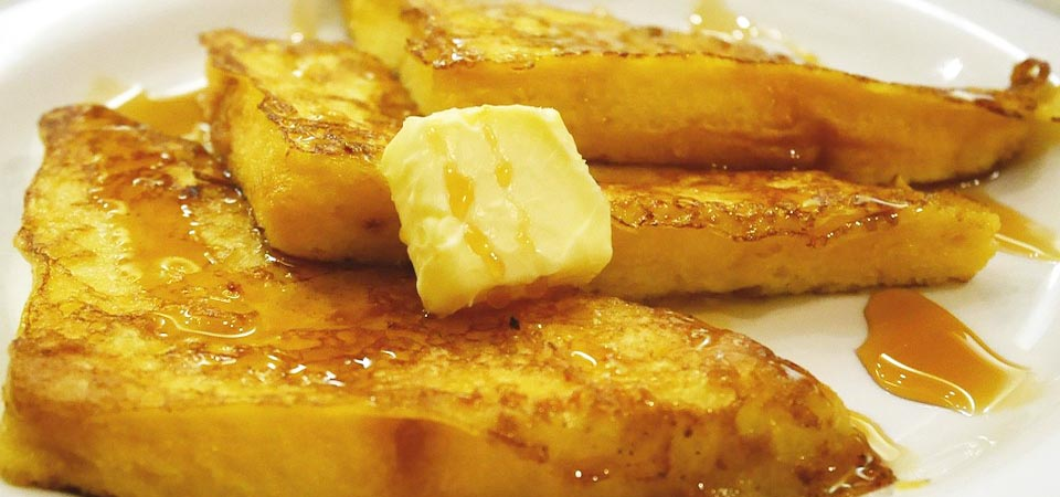 Image of French Toasts Cooked with Eggs