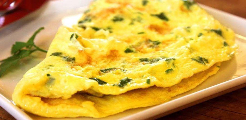 Ham & Cheese Omelette Image for Breakfast Dishes with Eggs