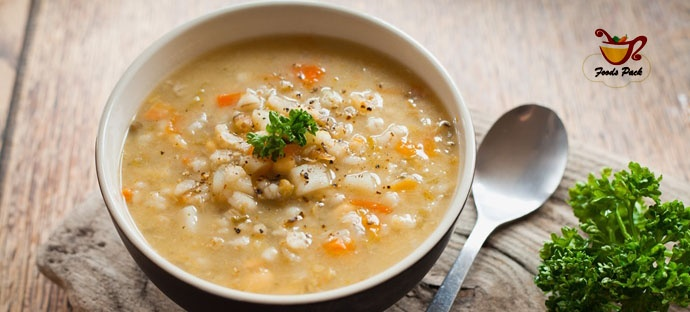 Healthy Soups Italian Minestra d'orzo Image by Foodz Pack