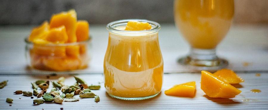 Lela's Mango Shake for Breakfast Image