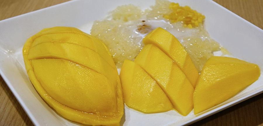 Coconut Mango Shake at FoodzPack