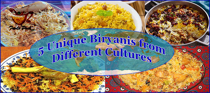 Feature Image 5 Unique Types of Biryani