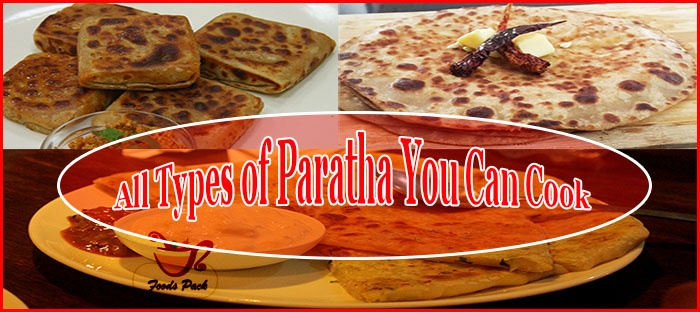 Types of Paratha Feature Image