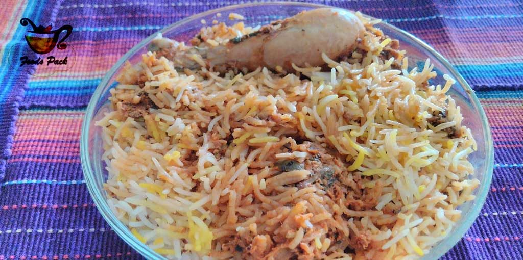 Hyderabadi Dum in Types of Biryani