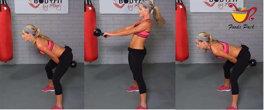 How to Do Kettlebell Swing Workout