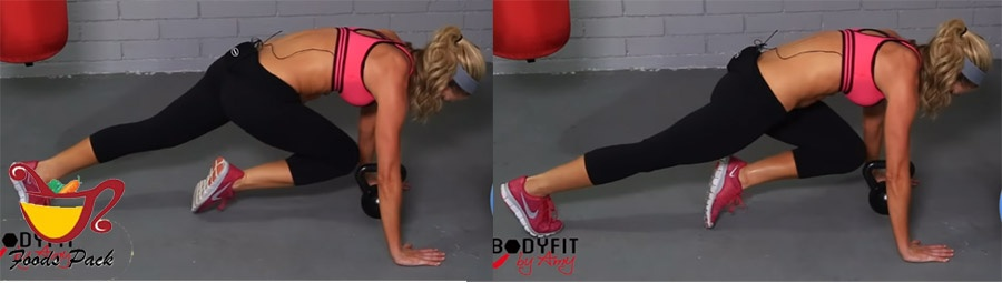 Image of How to Do Kettlebell Workout Mountain Climber