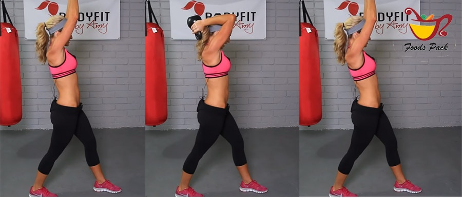 How to Do Kettlebell Workout Overhead Triceps