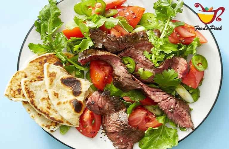 Grilled Steak Tortilla Salad image