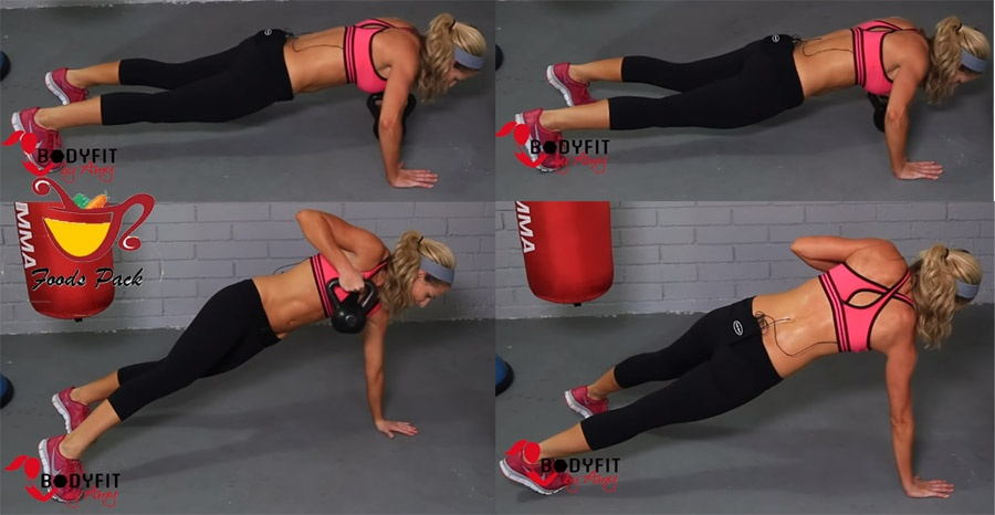 How to Do Kettlebell Workout Push Ups