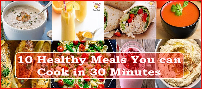 Cover Image of Healthy Quick Meals