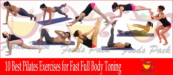 Perfect Combo of 10 Pilates Exercises for Fast Full Body Toning