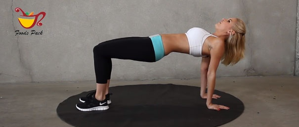 Image of Woman Doing Reverse Plank