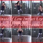20 Minute Routine of Low Impact Exercises for Seniors, Obese, and Slackers
